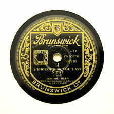 "JERI SOUTHERN ""I Thought Of You Last Night"" BRUNSWICK 04910 [78 RPM]"
