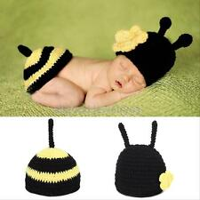 Newborn Baby Unisex nice Crochet Knit Photo Photography Prop Outfits Lovely BEST