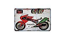 Ducati 750 F1 Racer Motorbike A4 photo Retro Bike