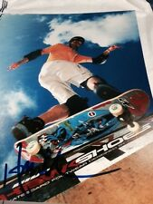 Tony Hawk Auto 8x10 Photo Slateboarding COA