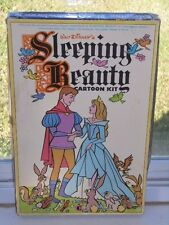 Vintage Colorforms Walt Disney Sleeping Beauty Cartoon Kit Play Set Toy