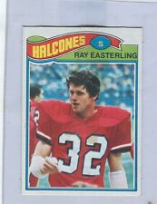1977 Topps Mexican # 507  RAY EASTERLING  Falcons  Richmond  stf