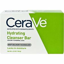 2 Pack - CeraVe Hydrating Cleansing Bar 4.5 oz Each