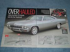 "1965 Chevrolet Impala RestoMod Article ""Overhauled"""