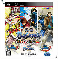 3 IN 1 PS3 Sengoku Basara HD Collection SONY Beat 'em Up Games CAPCOM