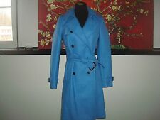 NWT J. Crew  Icon trench coat in Italian wool cashmere 28231 hthr twilight $365