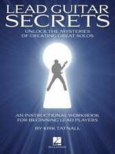 Kirk Tatnall Lead Guitar Secrets Learn to Play Rock SOLOS TAB Music Book & CD