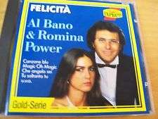 AL BANO E ROMINA POWER FELICITà CD MINT-  RARISSIMO ARIOLA GERMANY