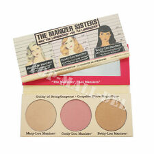 The Balm Makeup Sisters Power Bronzer Highlighter Cosmetics eyeshadow Palette