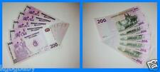 5 x Uncirculated BANKNOTES_CONGO_Consecutive Serial Numbers