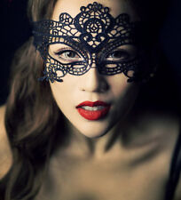 Woman Sexy Black Gothic Lace Butterfly Nightclub Belly dance Party Eye Mask New