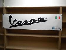 Vespa scooter banner, Piaggio,150GS, GL, 180SS, Primavera, 125, etc