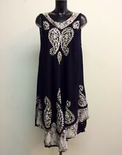 Sundress / Beach / Holiday Cover Up / Kaftan dress size 18 Very Slimming