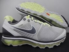 WMNS NIKE AIR MAX + 2010 WHITE-GREY-LIQUID LIME SZ 10 [386374-100]