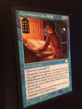 MTG MAGIC WEATHERLIGHT ANCESTRAL KNOWLEDGE (FRENCH CONNAISSANCE ANCESTRALE) NM