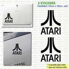 atari x2  video games retro arcade pegatina sticker Aufkleber  vinilo vinyl