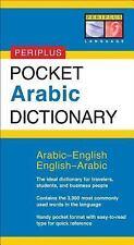 Pocket Arabic Dictionary: Arabic-English English-Arabic Periplus Pocket Diction