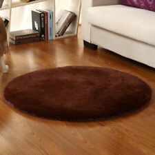 Soft Shaggy Circle Round Area Round Rug Living room Carpet Bedroom Floor Mat