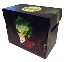 2 - THE JOKER Art Comic Book Storage Box - City of Smiles Holds 125-140 Comics