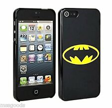 Hard Phone Back Case Cover For Apple iPhone SE/5/5S GENUINE DC COMICS BATMAN NIB