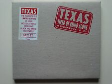 Texas/Tired of Being Alone (Acoustic EP) Ltd. Ed. with 3 Postcards (Sealed)