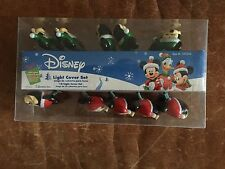 DISNEY MICKEY MOUSE CHRISTMAS TREE 10 LIGHT COVER SET INDOOR/OUTDOOR ROMAN