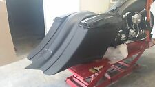 "Stretched Saddlebags, fender ""only"" 7"" Down & 14"" Back  Harley 97-08 flh"