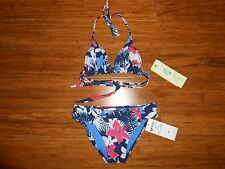 NWT ROXY Bathing Suit Bikini Girls Kids Size 8 MRSP $44