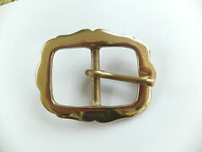 """Re enactment Heavy Duty Solid Brass 1-1/4""""  or 32 mm  Belt Buckle Leather craft"""