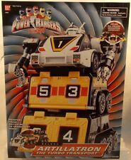Power Rangers Turbo - Deluxe Artillatron The Turbo Transport Megazord (MISB)