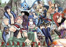 POSTER A4 PLASTIFIE-LAMINATED(1 FREE/1 GRATUIT)*MANGA FAIRY TAIL.GUILDE NATSUN°2