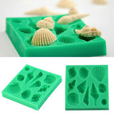 coquillages silicone - Forme fondant Gâteau chocolat Moisissure DIY gâteau Forme
