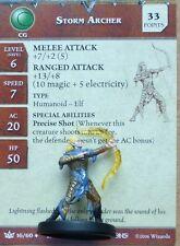 D&D Miniatures Dungeons & Dragons 34 Storm Archer C38 Promo