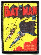 BATMAN comic cover #1 EMBROIDERED IRON-ON PATCH **FREE SHIPPING d 89054 dc robin
