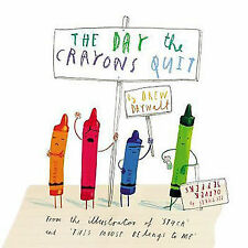 NEW The Day the Crayons Quit by Drew Daywalt Paperback Book Free Shipping