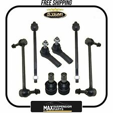 Front Suspension Ball Joint Sway Bar Tie Rods Ford Mustang $5years warranty$