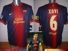 Barcelona XAVI Nike BNWT Adult XL Spain Shirt Jersey Football Soccer 12/13 Top