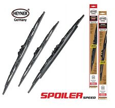 Toyota Avensis Hatchback 1997-2003 SPOILER window wiper blades FULL set of 3 EX