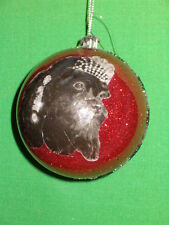 Shih Tzu / Lhasa Apso Queen Photo Dog Ball Ornament by Katherines Collection Ret
