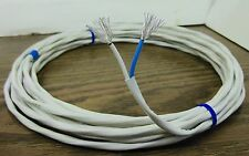10 feet 12 AWG Twisted Pair Silver Plated Cable speaker wire 37 strands