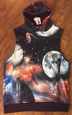 NEW PLAY CLOTHS GALAXY HOODIE IN CAVIAR BLACK SIZE LARGE L!!!