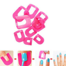 DIY Manicure Nail Gel Model Clip Edge Polish Glue Overflow Beauty Tool FT