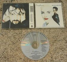 Eurythmics - We Too Are One - Original UK Issue CD