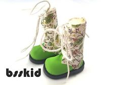 "SALE Blythe Pullip 1/6 12"" Doll Floral GREEN Shoes Boot"