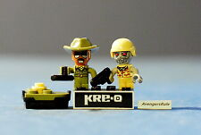 Kre-O Cityville Invasion Mini-Figure Population Sgt. Drill Zombie Soldier