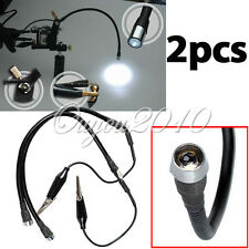 2x Flexible Tattoo LED Light Adjustable For Machine Gun Assistant Kit Set Supply