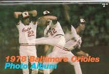 1978 Baltimore Orioles Photo Album; Eddie Murray