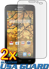 2x Clear LCD Screen Protector Guard Shield for Alcatel One Touch Fierce 7024W