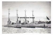 rp17295 - Royal Navy Submarines HMS Proteus Pandora Posidon Perseus - photograph
