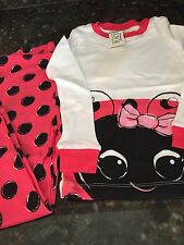 THE CHILDRENS PLACE Toddler Girl RED LADYBUG Pajama Set NWT Sz 2T